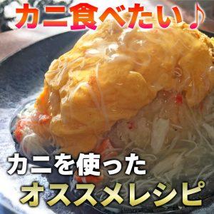ズワイ蟹 オススメ レシピ